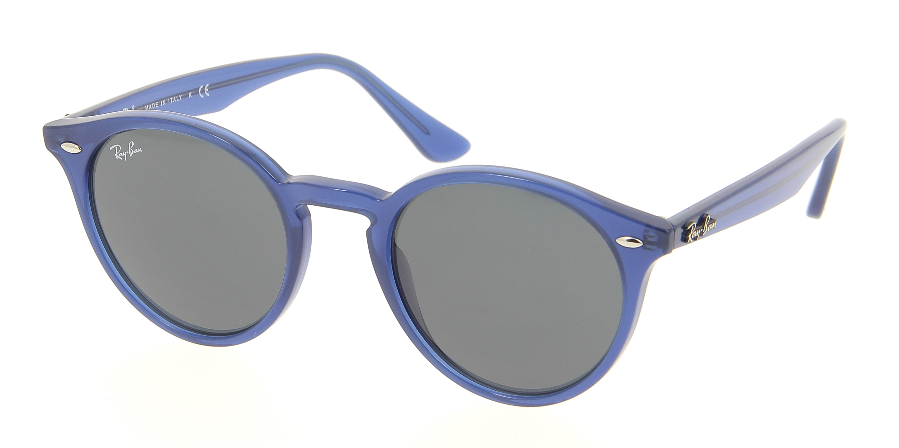 lunettes de soleil ray ban rb 2180 616587 49 21 mixte bleu. Black Bedroom Furniture Sets. Home Design Ideas