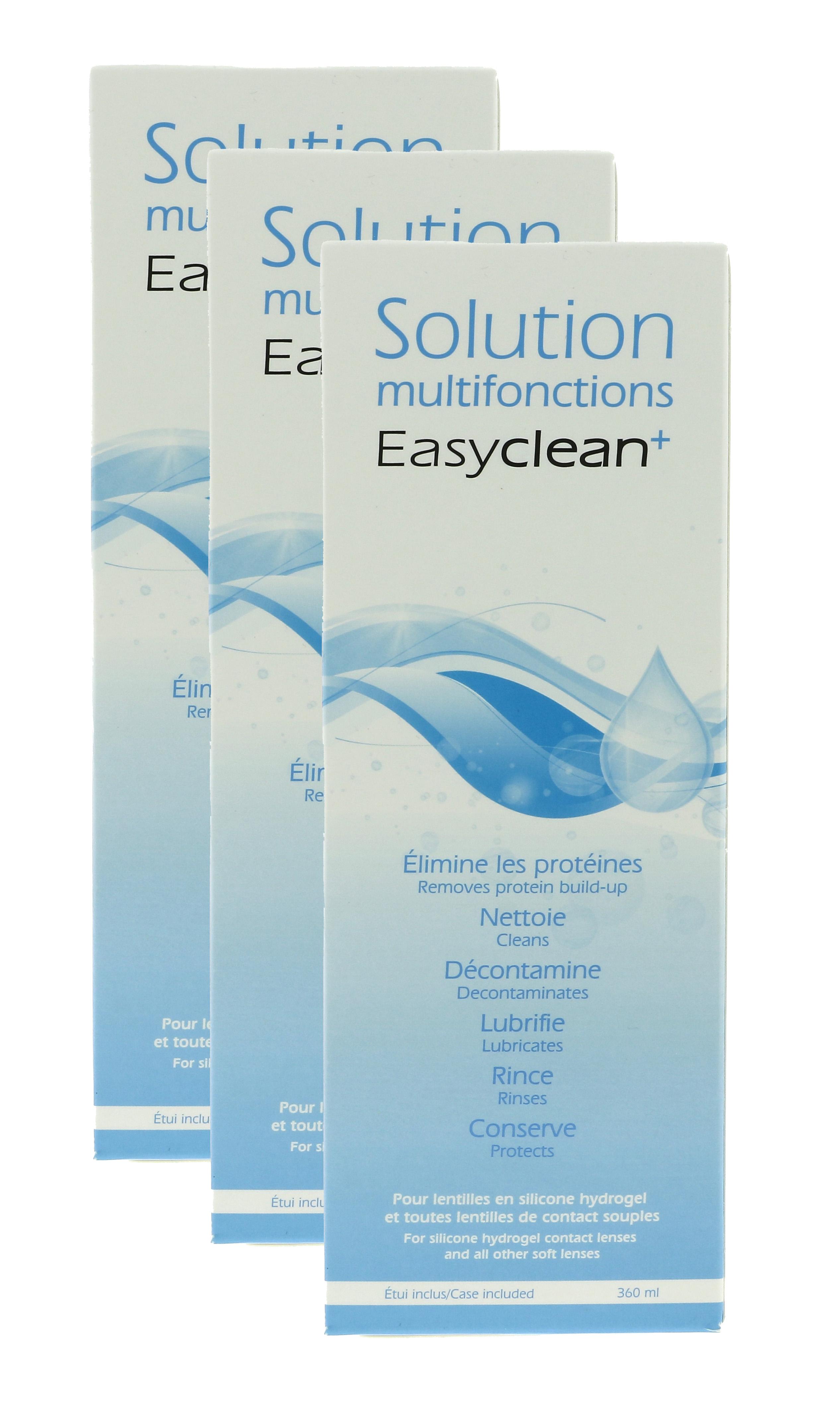 EASYCLEAN+ Pack 6 Mois 3 x 360 ml