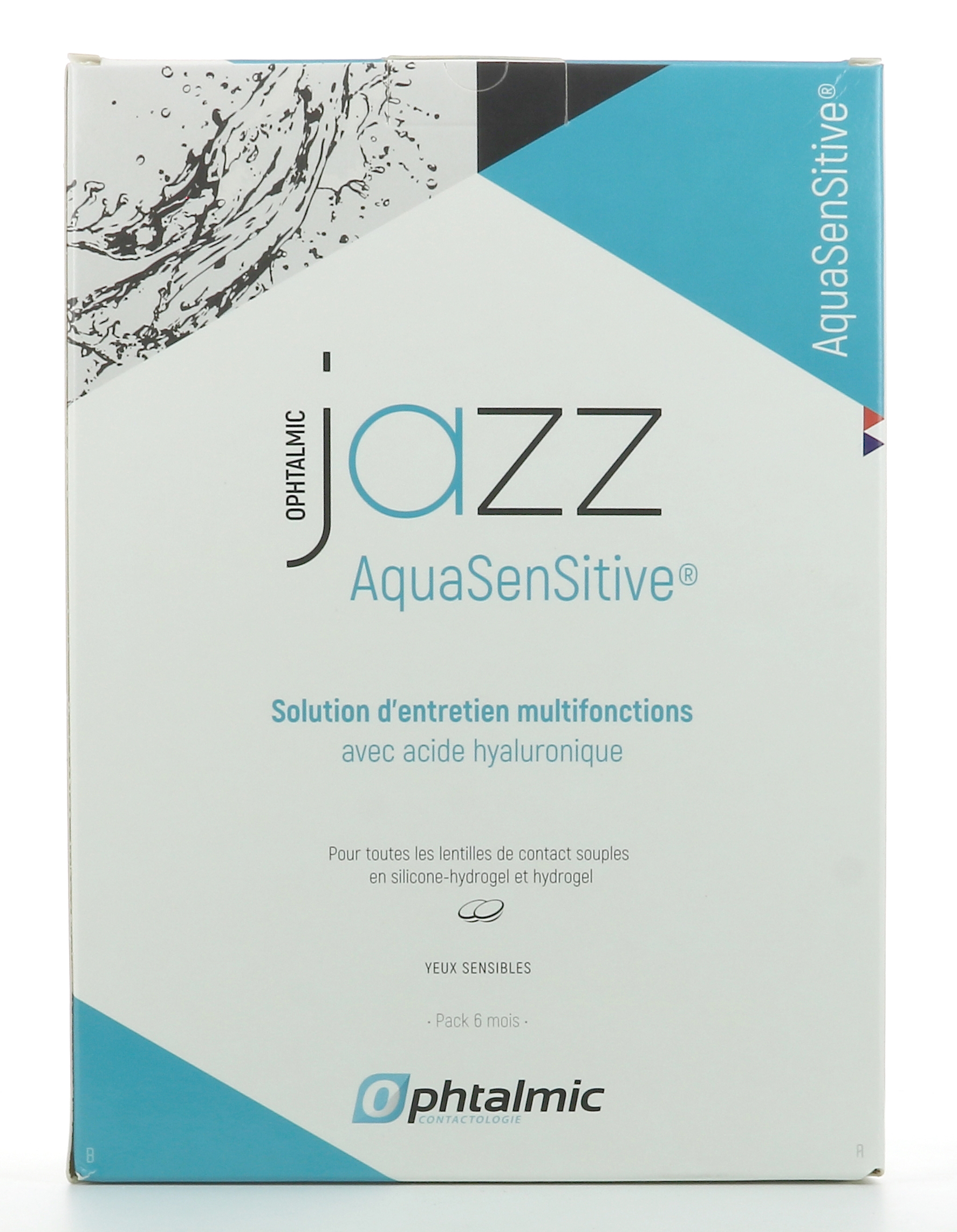 JAZZ AQUA SENSITIVE 3*350ML