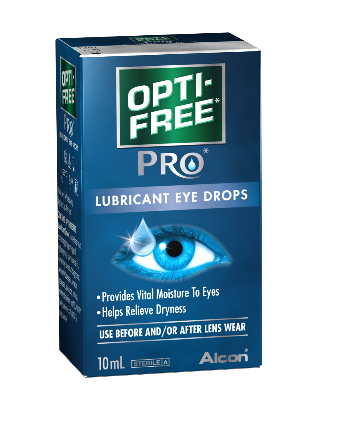 OPTI-FREE PRO LUBRIFIANT Flacon de 10ml