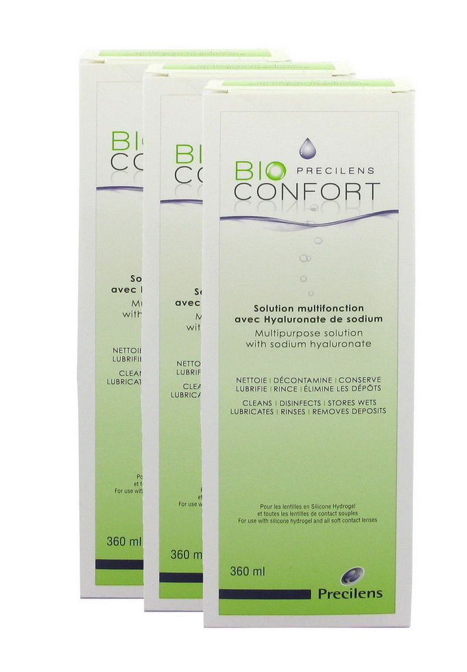 BIO CONFORT Pack 3x360ML