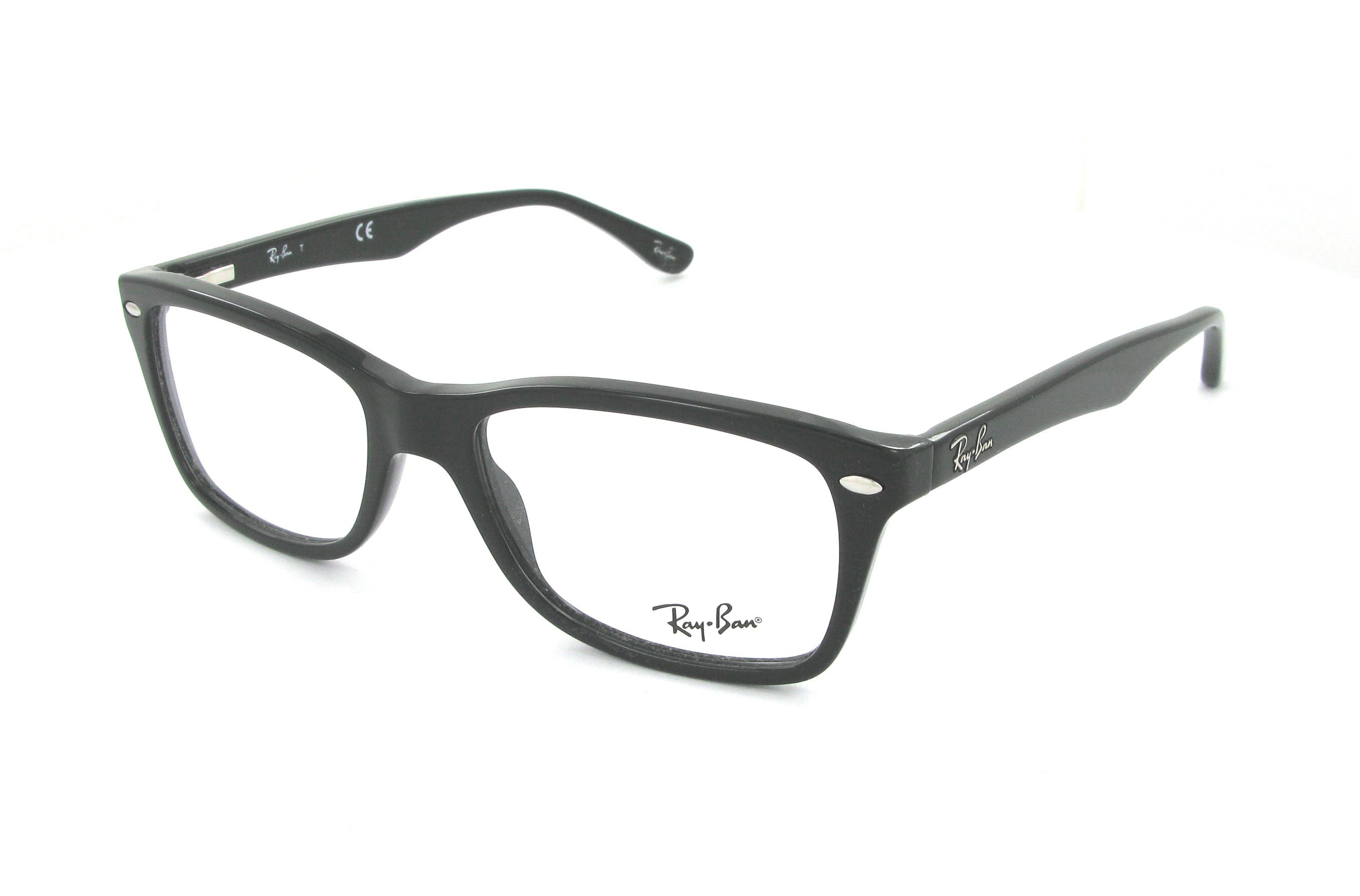 18078b0714369 lunettes de vue ray ban rx5206 2034 noir cris. RX RX