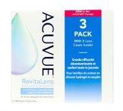 Contact lenses easy-care-solutions AMO ACUVUE Revitalens 3x360ml