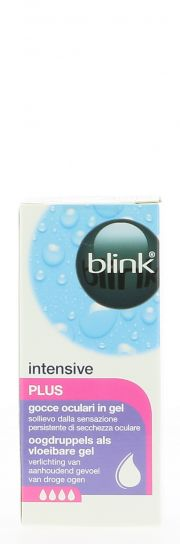 Contact lenses easy-care-solutions AMO BLINK INTENSIVE Plus 10ml