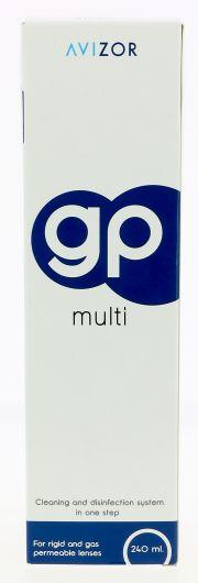 Contact lenses easy-care-solutions AVIZOR GP MULTI 240 ml