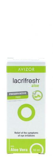 Contact lenses easy-care-solutions AVIZOR LACRIFRESH Aloe 10 ml