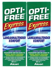 Contact lenses easy-care-solutions ALCON OPTI-FREE EXPRESS 2x355 ml