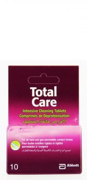 Contact lenses easy-care-solutions AMO TOTAL CARE DEPROTEINISATION 10 CPS