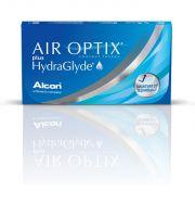Lentilles de contact ALCON / CIBAVISION AIR OPTIX PLUS HYDRAGLYDE 3 lentilles