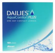 עדשות מגע ALCON DAILIES AQUACOMFORT PLUS 180